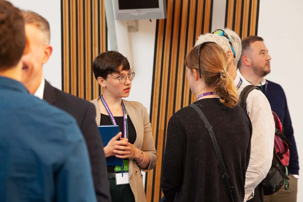 MHScot at the Scottish Parliament in May 2019