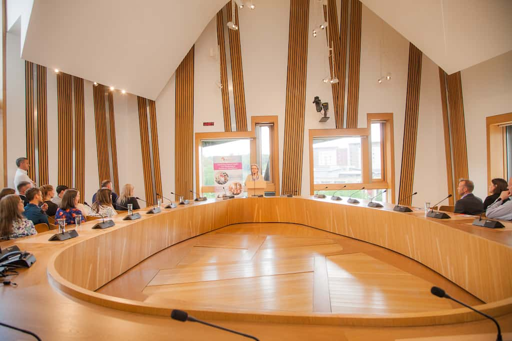 Welcome to the Scottish Parliament - The Fairfax Somerville Room
