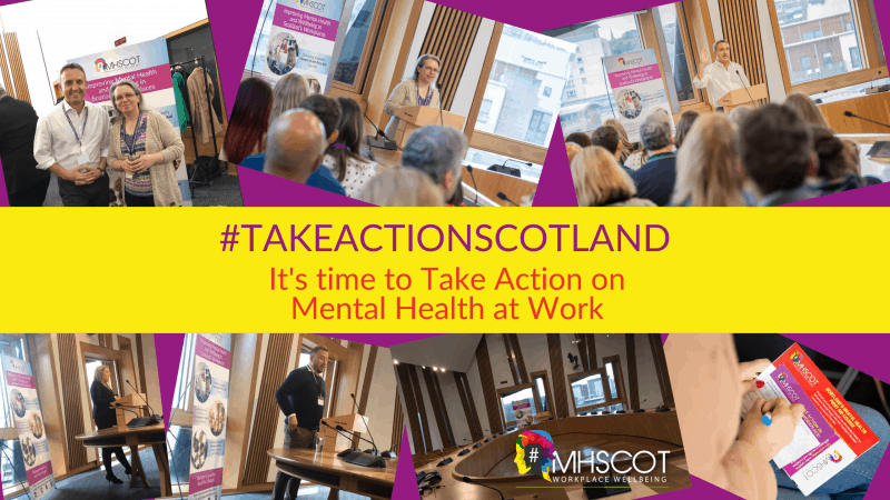 Scottish Parliament Reception – It's Time to Take Action on Mental Health at Work