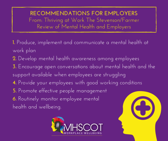 MHScot Recommendations for Employers