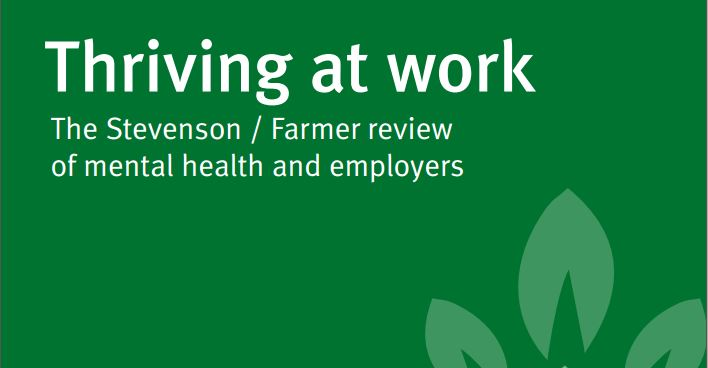 Thriving at Work – New Report